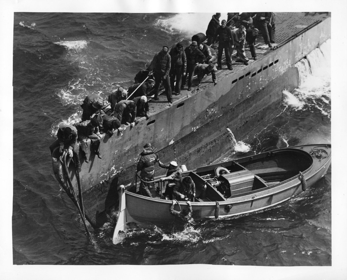 On this day in 1944, the U-505 submarine was captured off the coast of West Africa by a U.S. Navy Task Group. https://t.co/GKM0zvHvhn