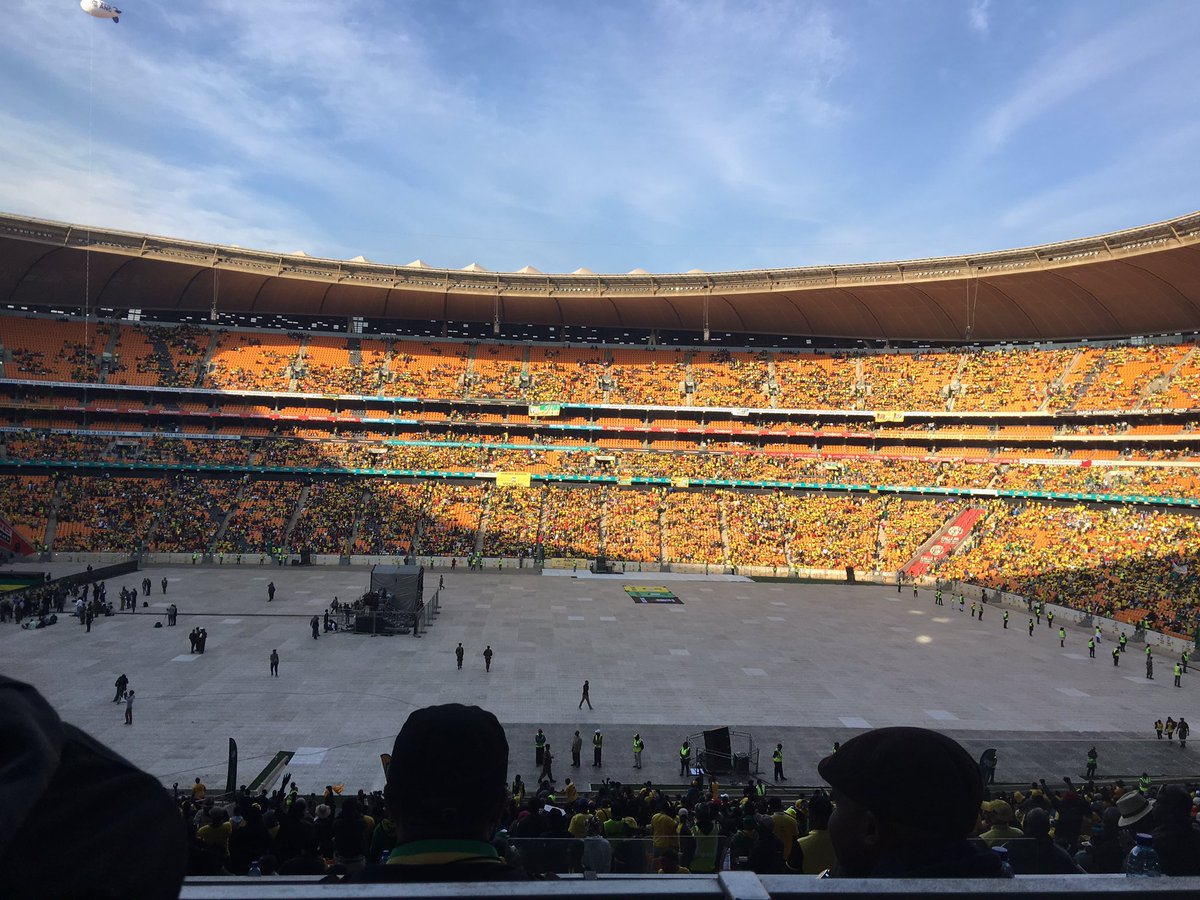 An announced 85,350. But where are they? #ANCGPManifestoLaunch https://t.co/8yZhUqpFCq