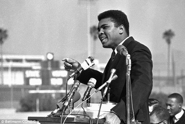 Ali was not just a boxing legend but humanitarian, activist, #thegreatest. We join the world in mourning a giant RIP https://t.co/p5nymcVh5G