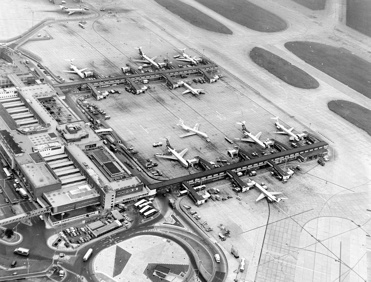 Take a flight back to 1946. To the year we first opened as a commercial airport: