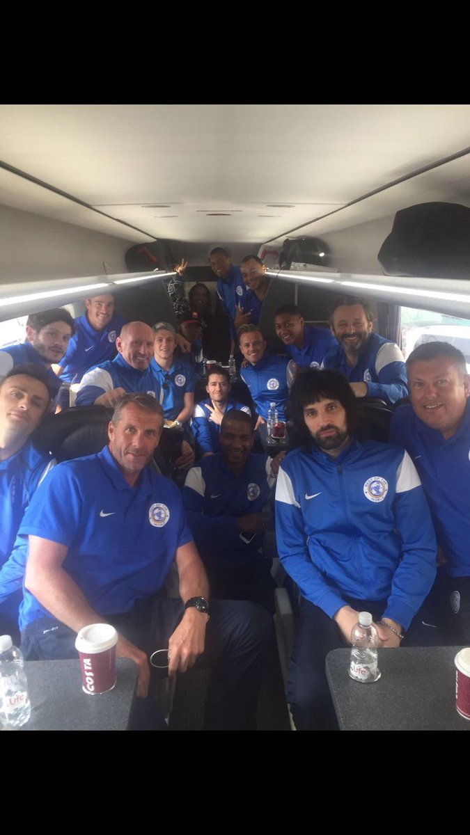 On route to @socceraid .Let the games begin!! We've come to win!! https://t.co/3w0IgKYKQg