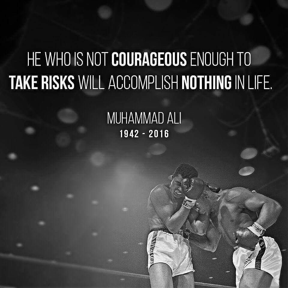 Risk people, risk. #ripmuhammadali #fb https://t.co/9g7efHxyaq https://t.co/hFmhviplUt