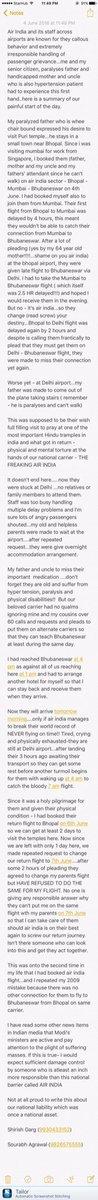 .@gargshirish had a very bad experience with @airindiain Hope someone can help @dr_maheshsharma https://t.co/eIc4zsGErp