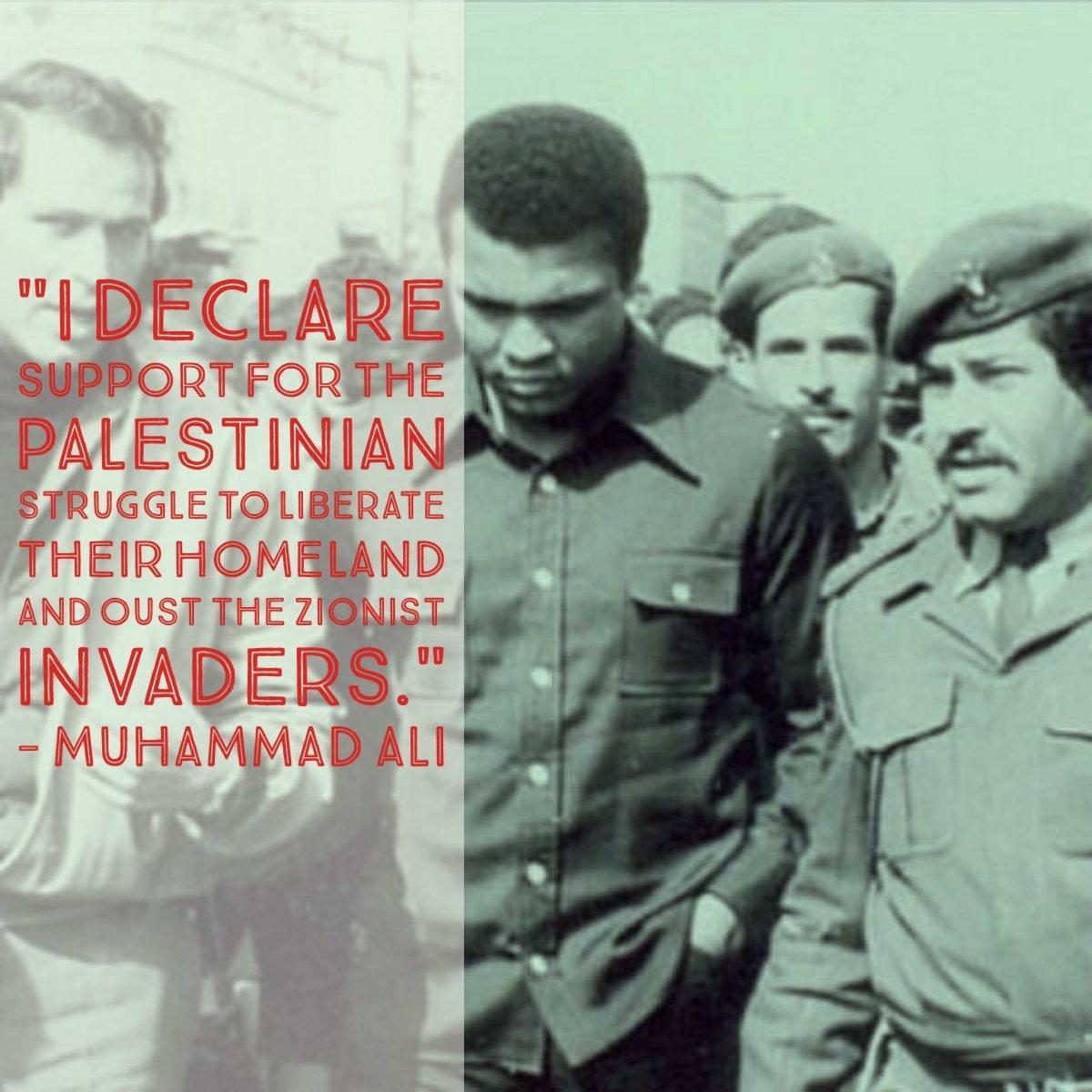 #MuhammadAli during a visit to a Palestinian #refugee camp in Lebanon 1974. #RIPMuhammadAli #TheGreatest  #محمد_علي https://t.co/MvG3DOiGIt