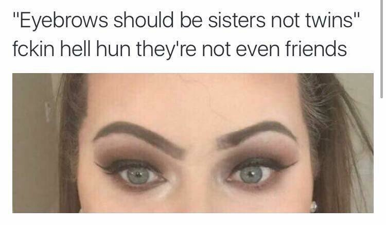 E I am creased at this #browsnotonfleek https://t.co/Q42gvqLh9f