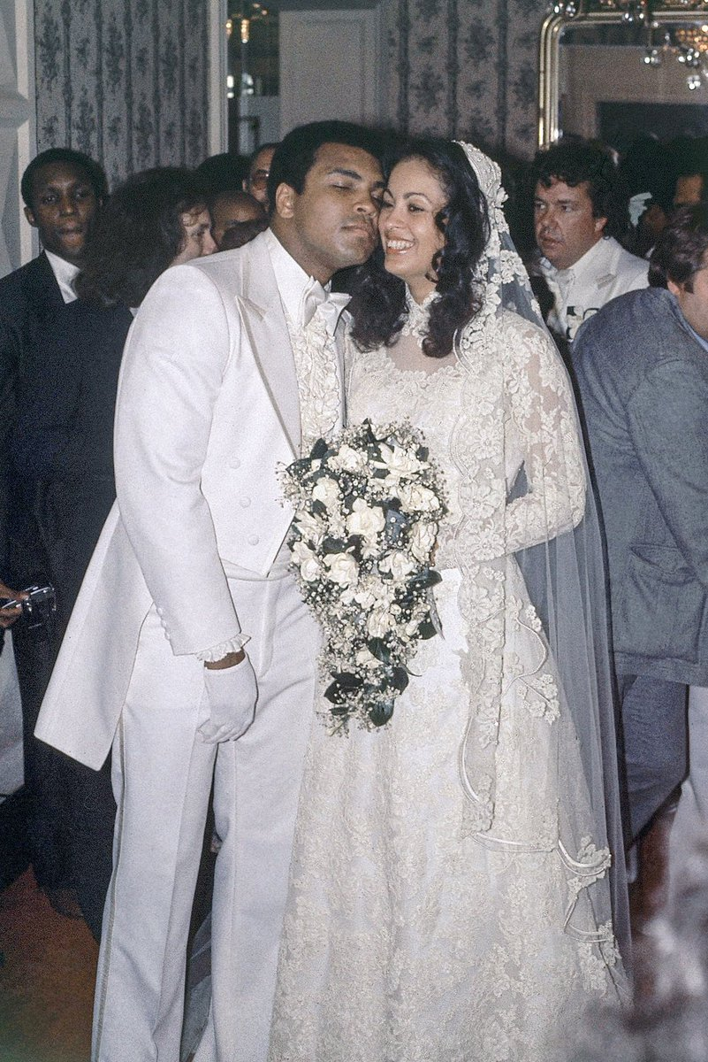 On this day 1977 muhammad ali with his new bride veronica porsche on this day 1977 muhammad ali with his new bride veronica porsche https thecheapjerseys Image collections