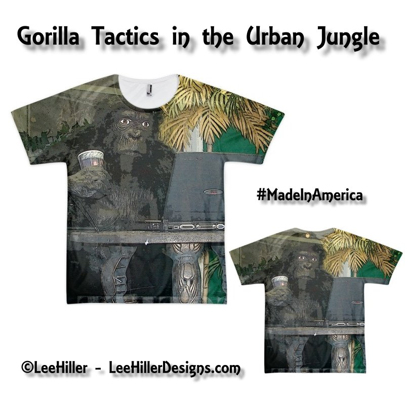 #Urban Jungle #Gorilla Tactics Lee Hiller #Photography t-shirt (unisex) #MadeInAmerica https://t.co/IP9nxh8ID2 https://t.co/SiLtn2kHdH