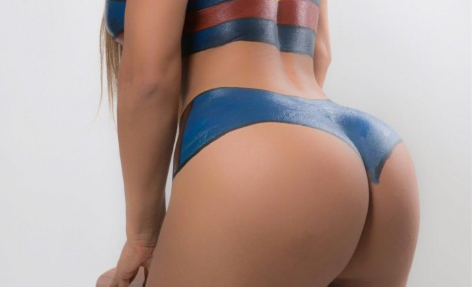 RT @officialpage3: Miss BumBum wearing nothing but body paint is as sexy as it sounds - VERY! https://t.co/vVc3IMtLBL https://t.co/8rNJTJDv…