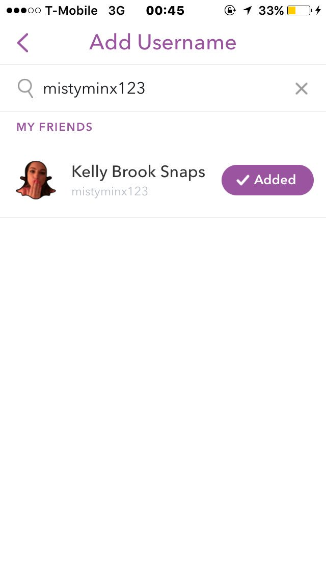 RT @MrJoe1997: Finally added @IAMKELLYBROOK on snap chat and wow! ???? https://t.co/Fekw9DL3p7