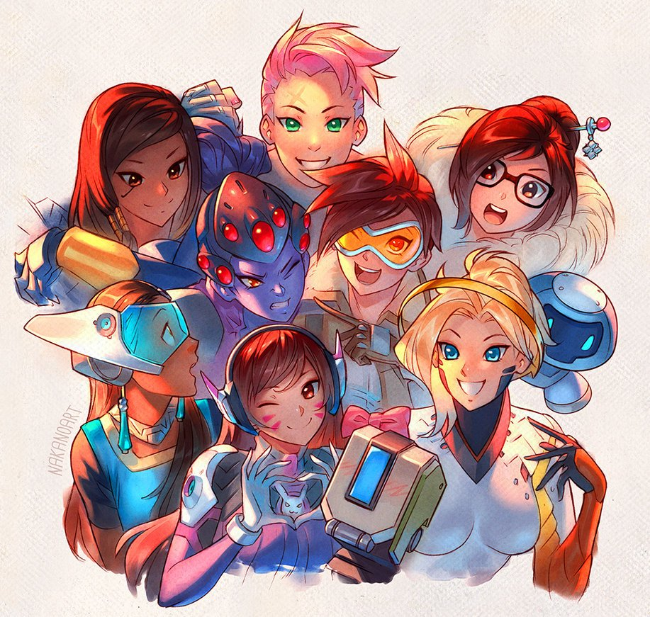 #Overwatch - Girls Just Wanna Have Fun! By NakanoArt [Source: https://t.co/VxQ5rSmAMd] @PlayOverwatch #art #fanart https://t.co/CILE87Gd5Y