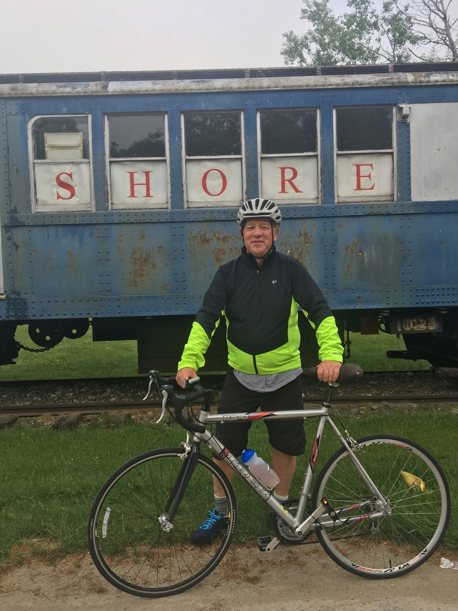 Trolley Museum cheering me on in training for 300 mile ride for No Kid Hungry. Pls support  https://t.co/9v0v3nzs4L https://t.co/4RacT7N4z2