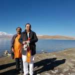 RT @rameshnswamy: Dr @swamy39 & @jagdishshetty at Lake Manasarovar today cc @AShetty84 @jgopikrishnan70 https://t.co/p742ZARQ6w