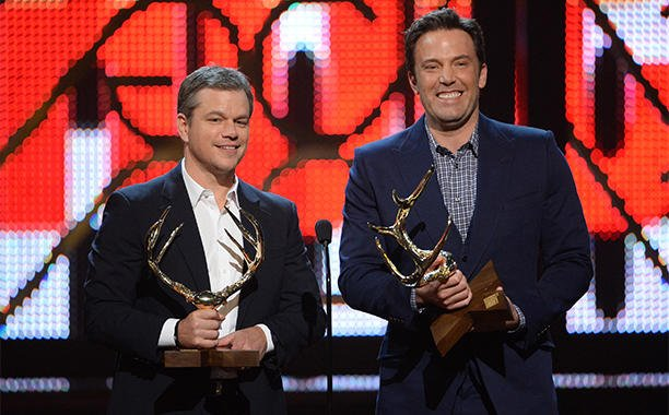 Ben Affleck and Matt Damon nab 'Guys of the Decade' trophy at Guys Choice Awards