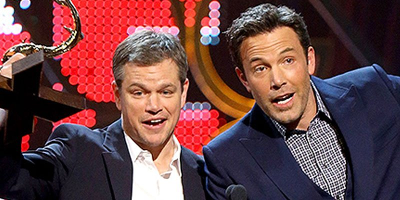 Reunited! Ben Affleck, Matt Damon joke about their 'Guys of the Decade' award at