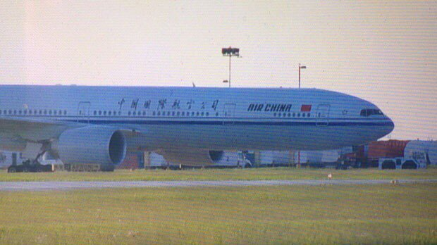 Air China flight makes emergency landing in