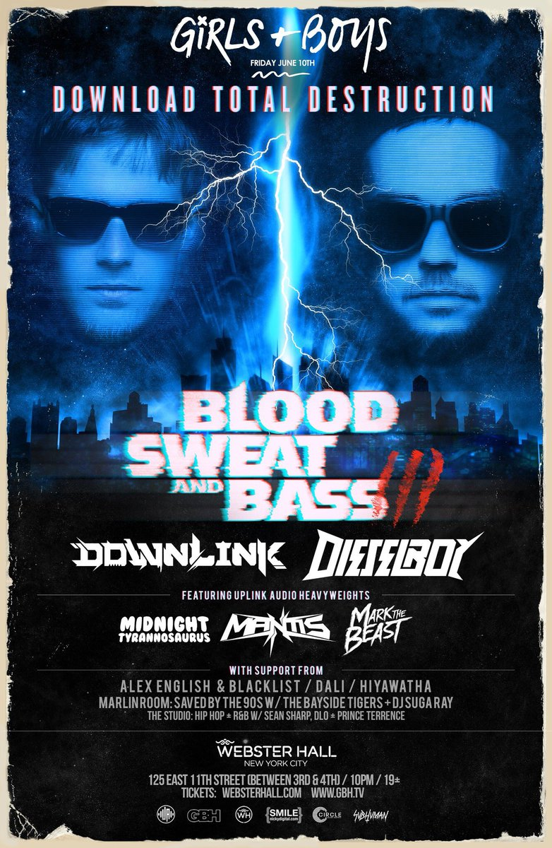 Fri 6/10 @downlinkmusic @DjDieselboy @Midnightasaurus @MantisATL @mvrkthebeast https://t.co/NNarCOTd0B https://t.co/aOJDPmitYl