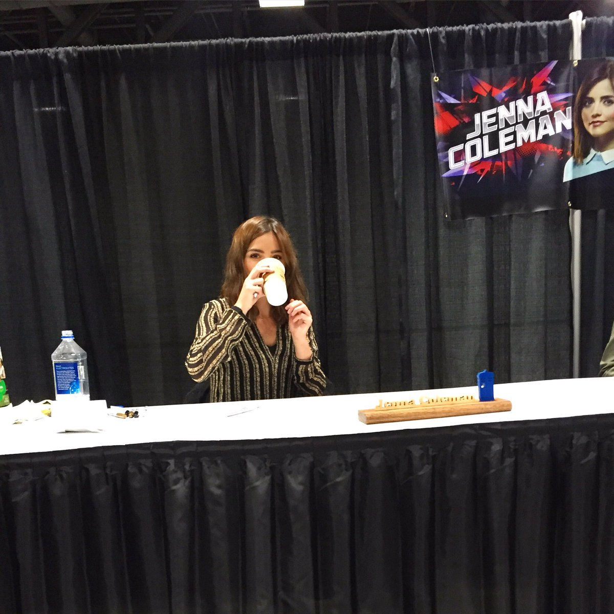 Jenna Coleman is the cutest!