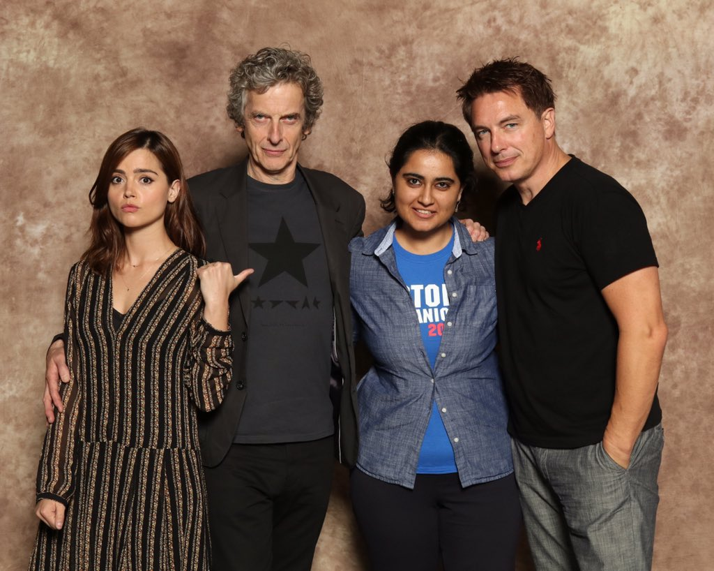 All my Doctor Who dreams came true!