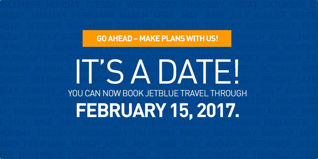 📆 Your plans. Our planes. Let's go places!