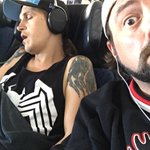 DALLAS! @JayMewes is sleeping now in an effort to conserve his energy for GET OLD at @dallascomiccon - TONIGHT AT 6! https://t.co/NZrjoWxiXg