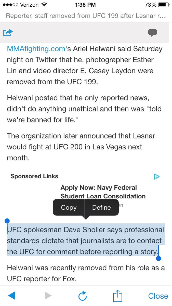 LOL.......no, #UFC that's not how the world works https://t.co/HxJEfcxX0K