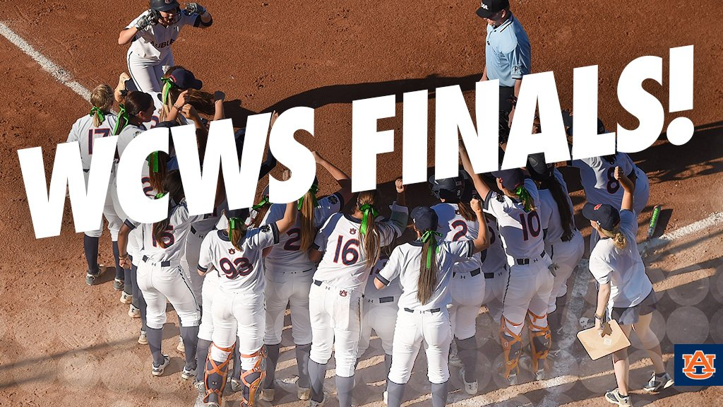 And @Auburn_Softball will play for a national title!! #WarEagle https://t.co/ysweGCKEn3