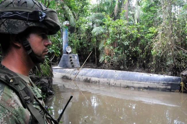 """Colombian authorities have seized 7 """"narco-submarines"""" from the Urabeños so far in 2016 https://t.co/lKKwNsovF2 https://t.co/u85NN1cQd0"""