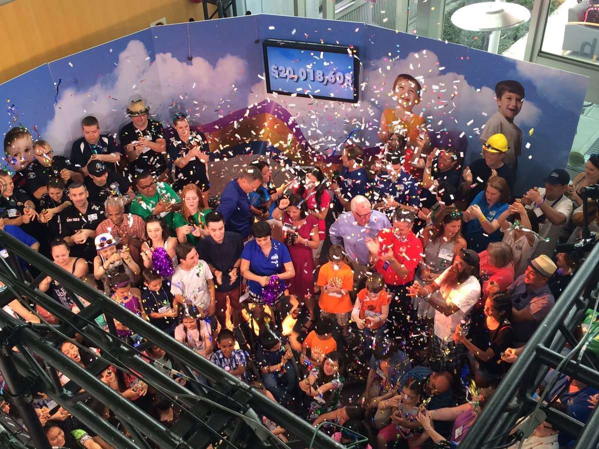 A record breaking $20,018,608 raised at #MiracleWeekend!  Thank you, British Columbia! #MiracleMoment https://t.co/URWzFao1gq