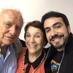 Agradeço imensamente ao @pefabiodemelo que recebeu meus pais depois da celebração em Franca- SP #Gratidão https://t.co/oB132sUBUw