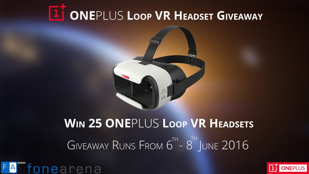 Giveaway: 25 OnePlus Loop VR Headsets https://t.co/JEVqtyuWzZ https://t.co/Kc3mO0eVCl