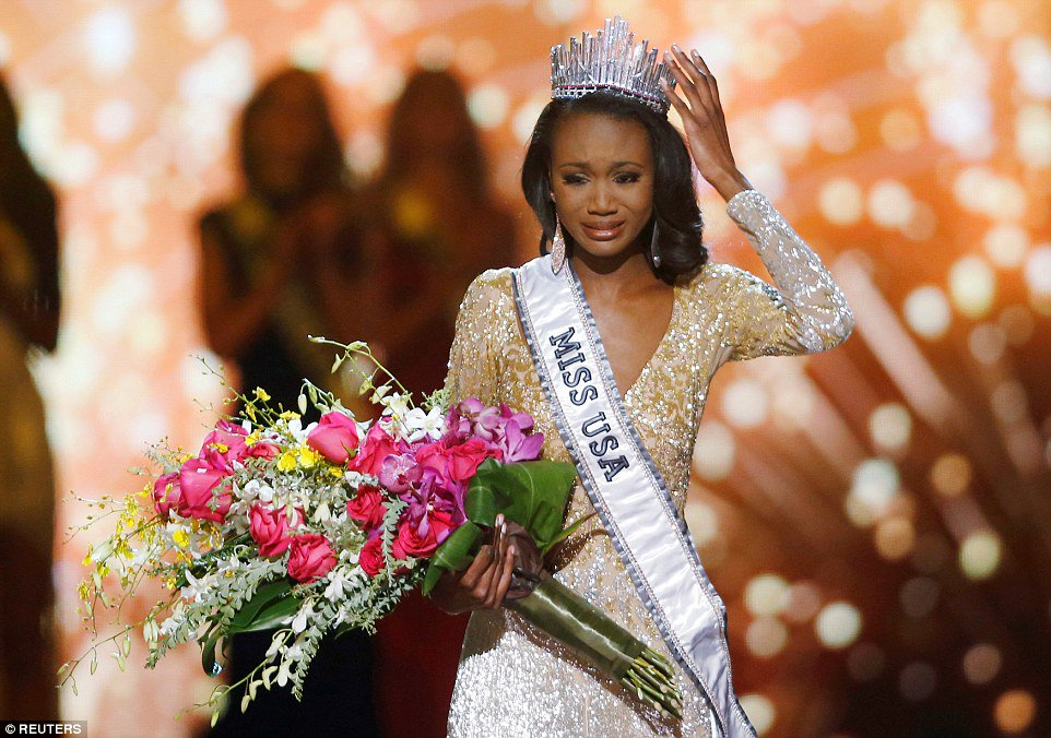 #DeshaunaBarber is the first-ever member of the military to win #MissUSA https://t.co/0QVA01hk2j