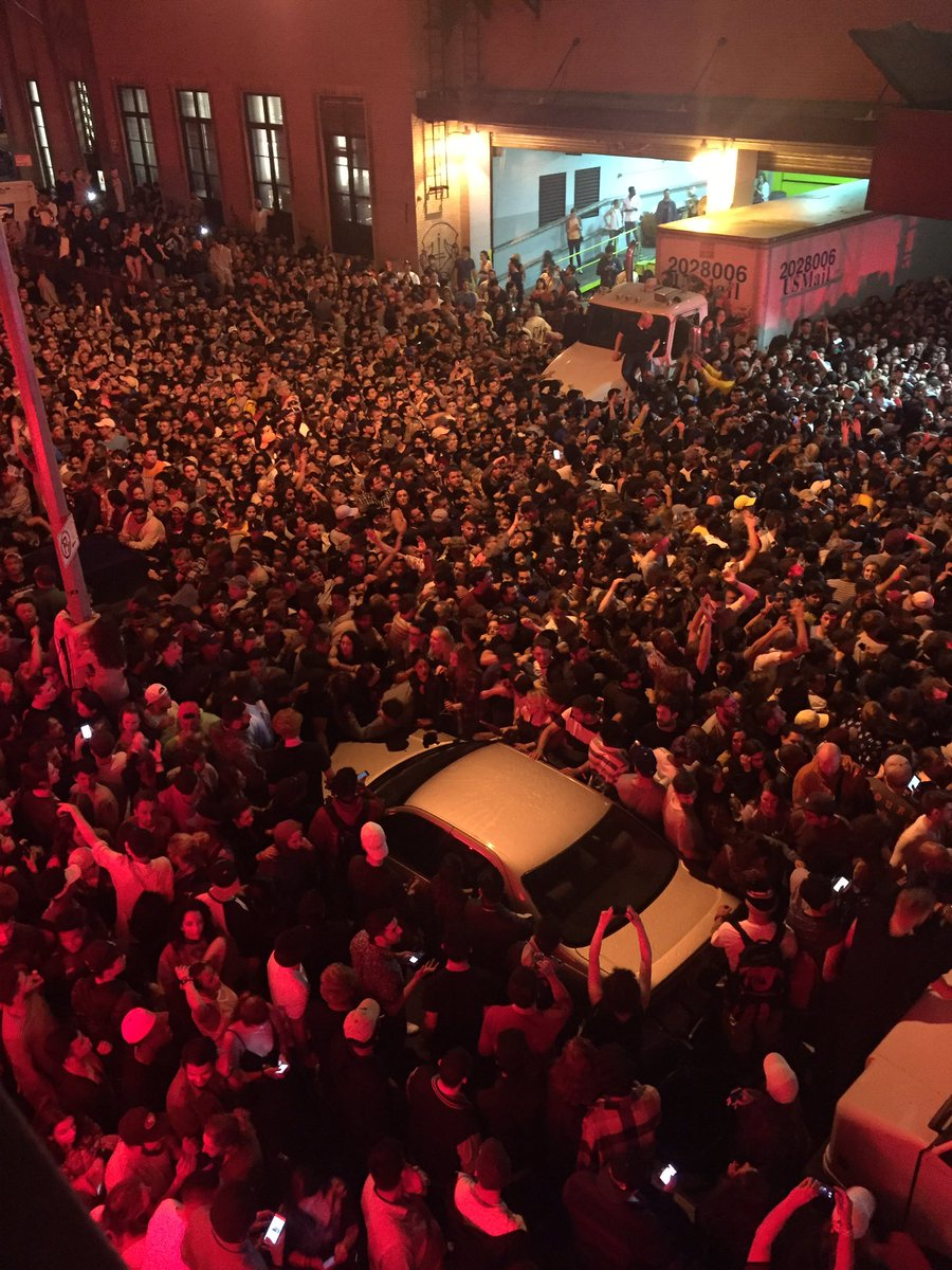 When you live across from Webster Hall and Kanye causes a riot