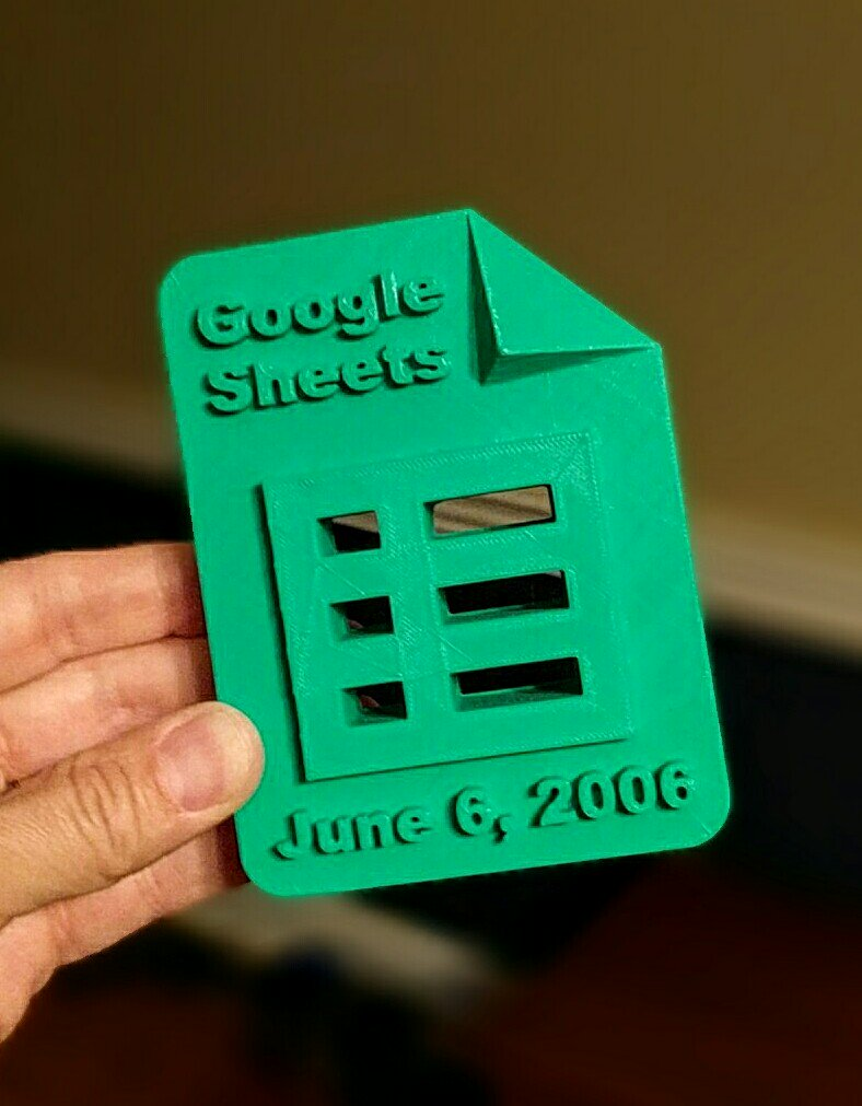 Today is the 10th anniversary of Google Sheets... starting @googledocs @googledrive, Slides, Forms, etc. #gafe https://t.co/nItXYGqR8N