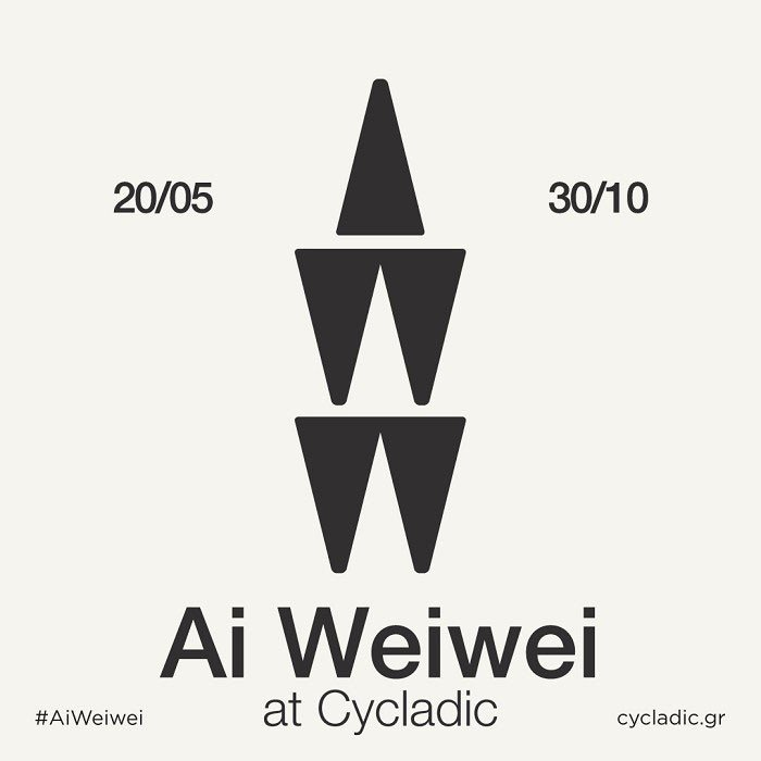 Don't miss Ai Weiwei's 1st exhibition on Greek ground at the @cycladic_museum!