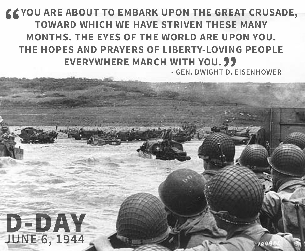 Smith & Wesson remembers D-Day (June 6th, 1944). #DDay Photo courtesy of the U.S. Army. https://t.co/twaMLzPE32
