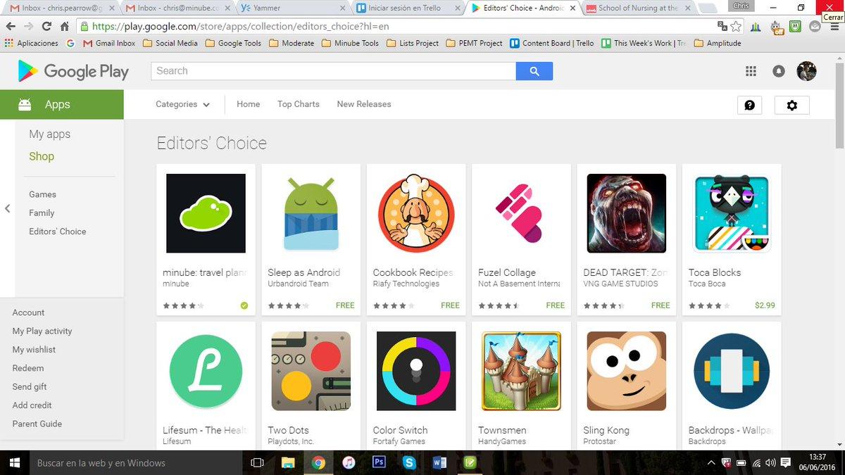 "minube recibe el máximo galardón de Google Play: ""Editor's Choice"" en todo el mundo! https://t.co/afnsNscOhG https://t.co/jBQHEFy6Fs"