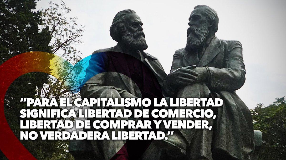 Nos encanta ver el TT Marx y Engels. Nuestro objetivo es lograr que el capitalismo no aparezca ni en las menciones. https://t.co/pOCWlmWMe0