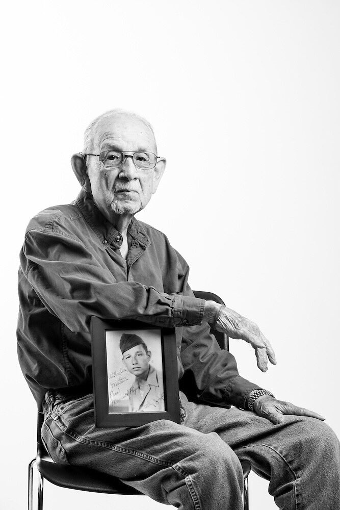 Let's honor those, like Martin Torres Jr., who stormed the beaches June 6, 1944. #DDay #VeteransPortraitProject https://t.co/57HyNVIjNG