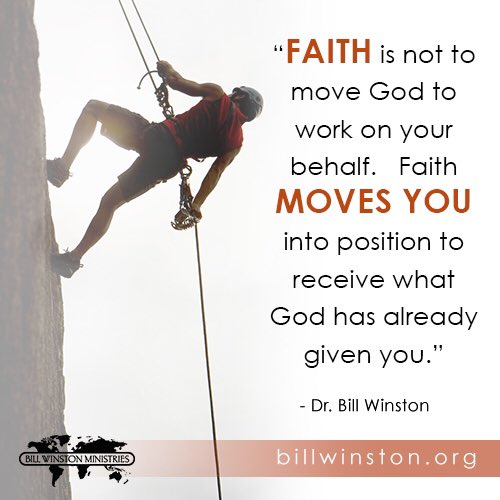 Faith does not move God. It moves you into position to receive what He has already provided. https://t.co/g9W1dJ0RsD