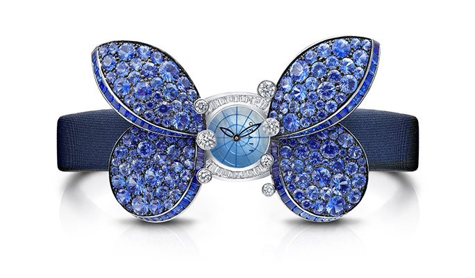 RT @pbillustrated: Every second counts with glitzy wristwatches, like this Princess Butterfly watch from @GraffDiamonds. #jewelry https://t…
