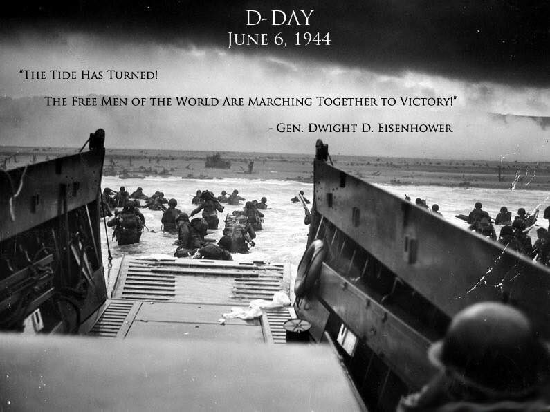 Remembering those who gave it all 72 years ago today. #DDay https://t.co/x68aWtkOLY