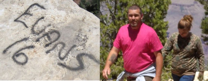 Park Rangers seeking info about 2 people who may have vandalized rocks at #GrandCanyon - https://t.co/ySFz3hzyMq -mq https://t.co/FklQ7FJxqN