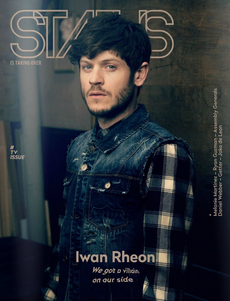 .@iwanrheon on @statusmagazine + turns out he's nothing like his #GameofThrones character