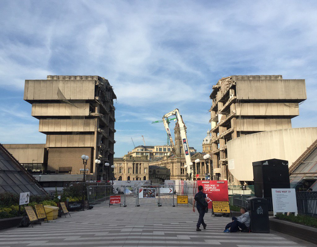 The partial remains of John Maddin's Birmingham Library: https://t.co/HUlAlb0FSY