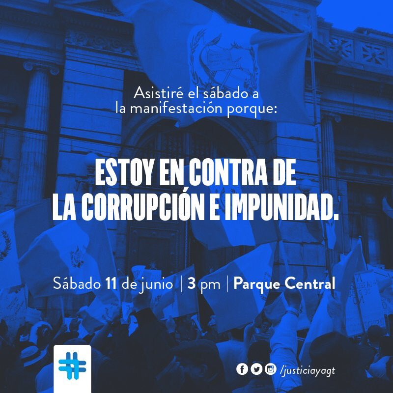 Guatemaltecos reaccionemos ante la #CooptacionEstadoGt revelada por CICIG y MP.  No es una crisis #EsElSistema https://t.co/OIsfUcxXFb