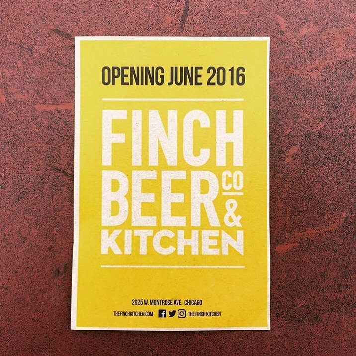 We're just about ready to spread our wings and open @TheFinchKitchen || Opening details will be announced soon! https://t.co/8aOz3XcfAX