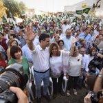 Los socialistas andaluces haremos una campaña con fuerza e ilusión para que @sanchezcastejon sea presidente. https://t.co/k6QR1yhNkX