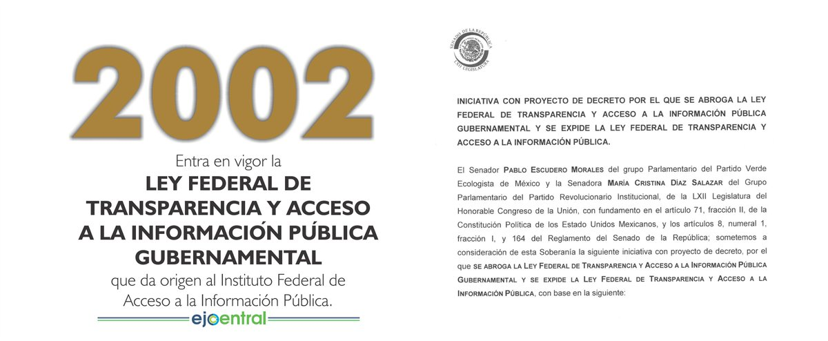 Efem ride hoy recordamos que en 2002 entra en vigor la for Oficina de transparencia y acceso ala informacion