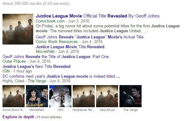 How many articles can there be about the Justice League movie being called...Justice League? https://t.co/5mn6kJupYq