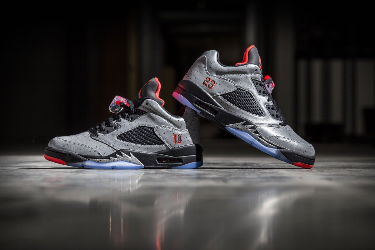 4971d5aa871031 GS sizes of the Air Jordan 5 Retro Low x Neymar are available here ...